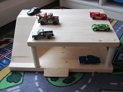 Wooden Toy Garage Woodworking Projects Amp Plans