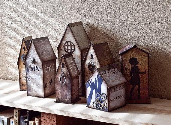 Gypsy village cottages