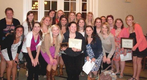 Congrats to Alpha Epsilon, Brenau, on Sorority of the Year & Outstanding Philanthropic Effort!