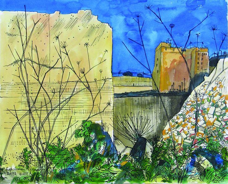 Rigby Graham - Quarry at Mqabba