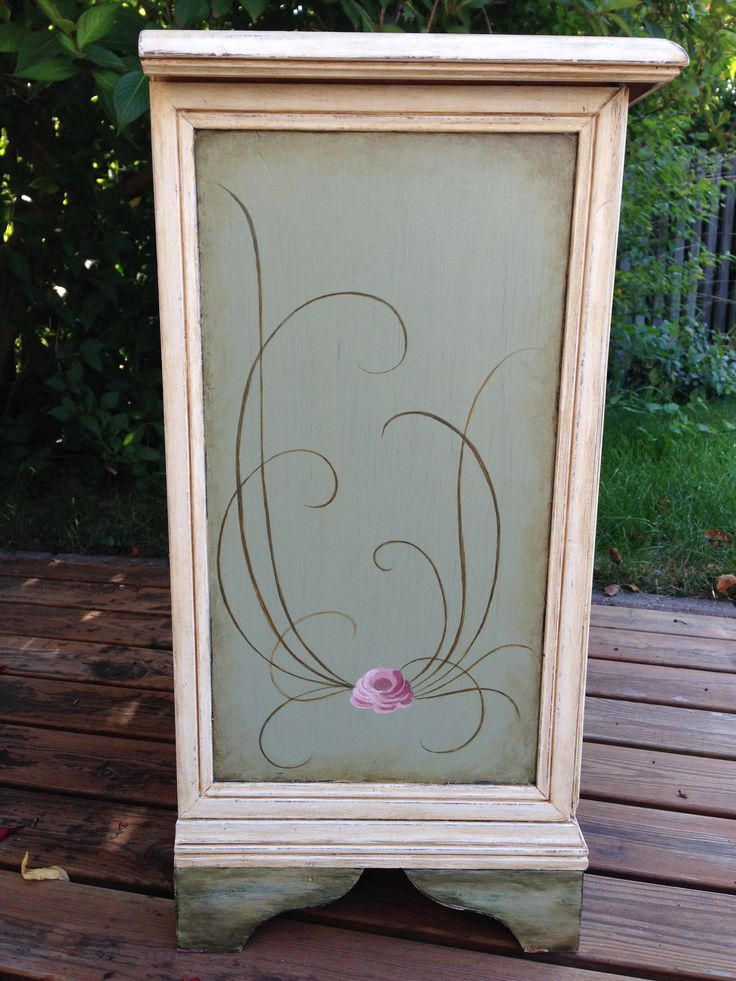 Upcycle chest of drawers painted with love