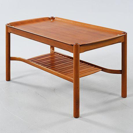 """DAVID ROSÉN, soffbord, """"579-022"""" ur """"Futura""""-serien, Nordiska Kompaniet, formgiven 1948/1949."""