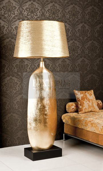 MAXLIGHT LAMPA PODŁOGOWA CLASS ZŁOTA 1298K : Lampy stojące : Sklep internetowy Elektromag (#glamour #lamp)