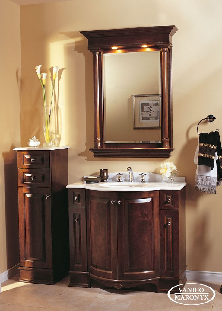 Pic On JSI Rockport Bathroom W Vanity Sink Cabinet Base Only Maple Doors Drawers