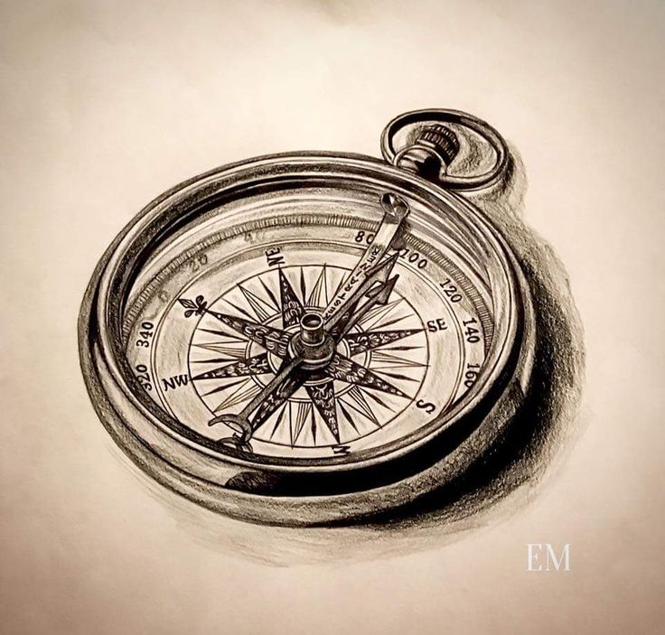 some awesome compass artwork personally hand drawn drawings maps drawing elegant details. Black Bedroom Furniture Sets. Home Design Ideas