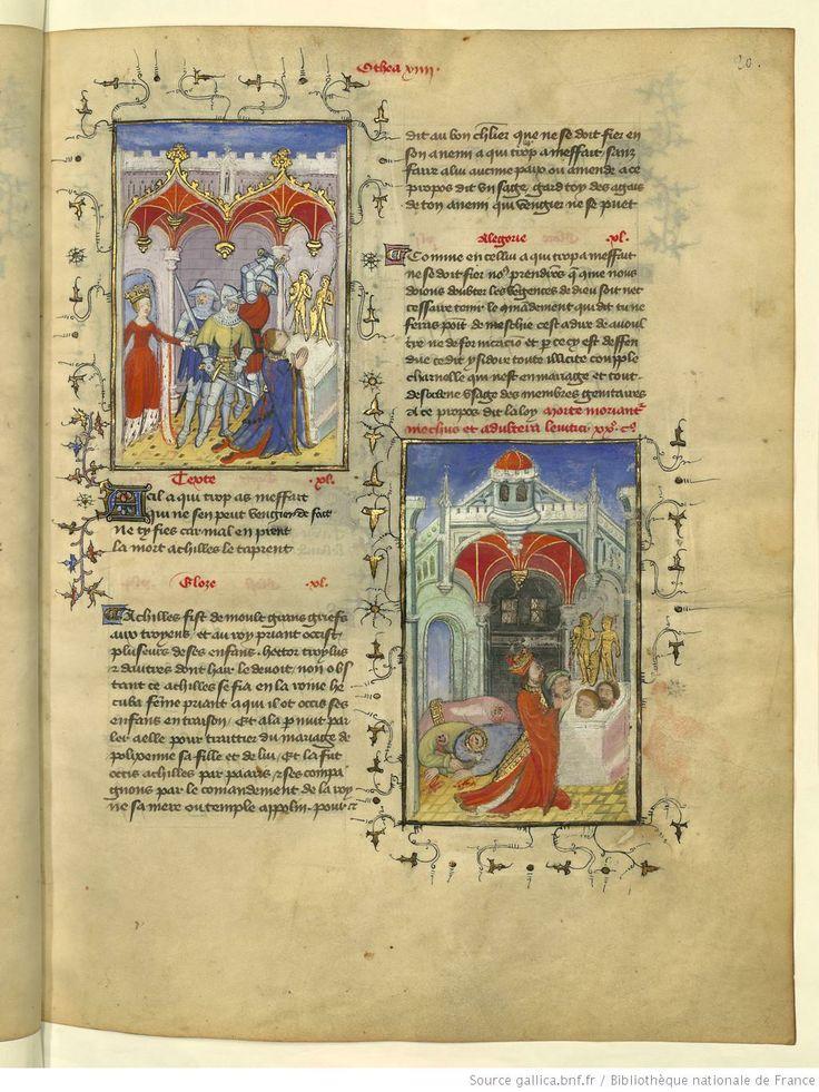 L'Epistre Othea à Hector, fol 20r