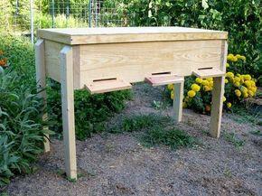 Natural Beekeeping   Free Plans   Long Langstroth Hive