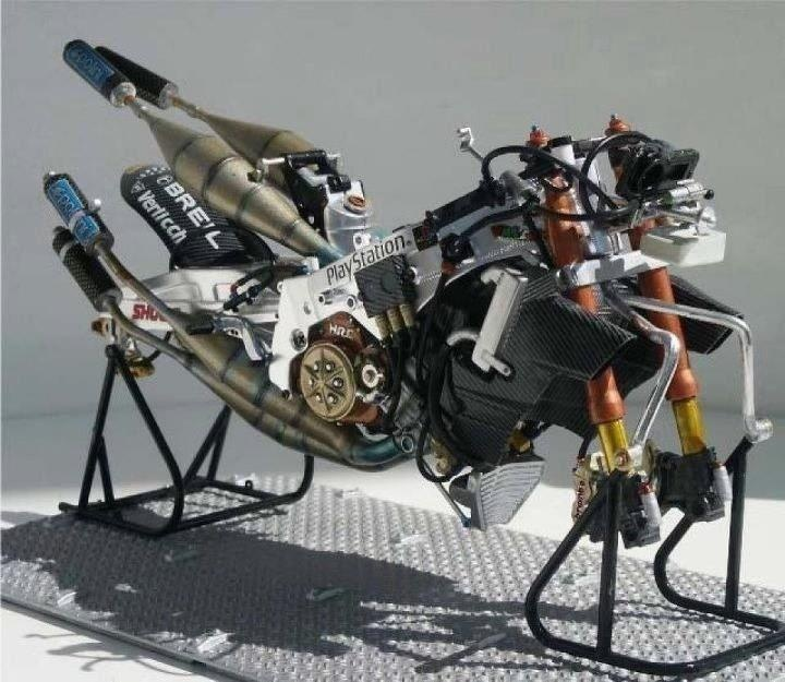 HONDA NSR 500 01-02 oltre 200 CV VALENTINO ROSSI