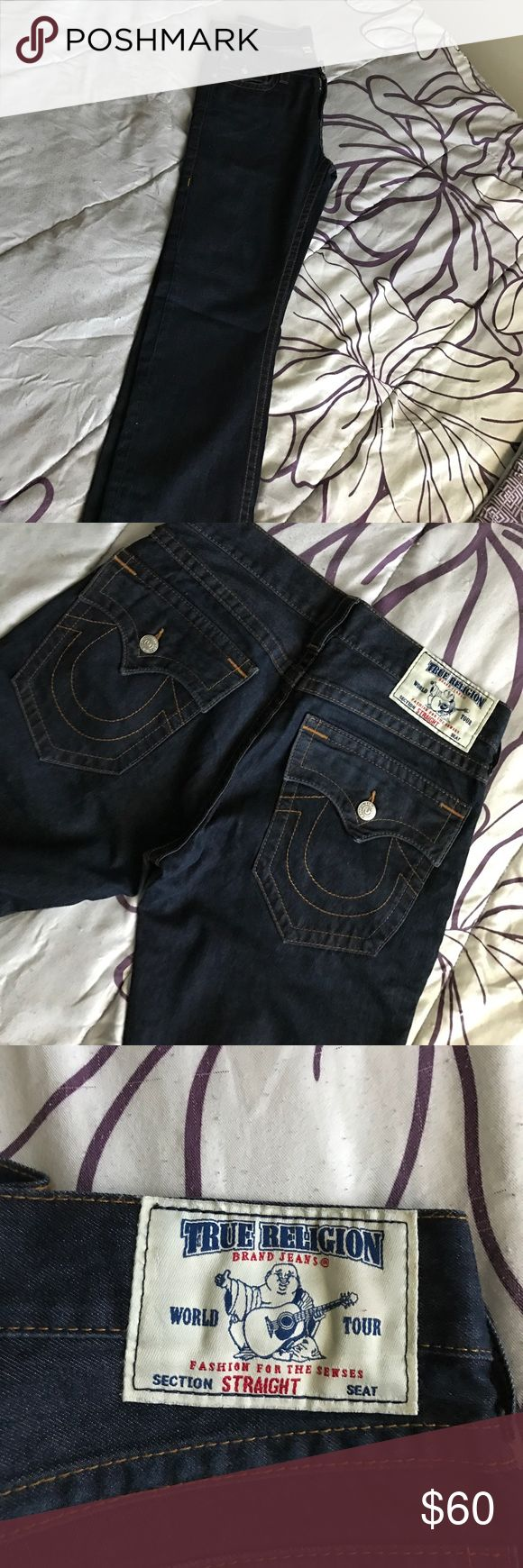 True Religion Men's Straight Jeans True Religion Men's Straight Jeans (Size 32) Never Worn Before True Religion Jeans Straight