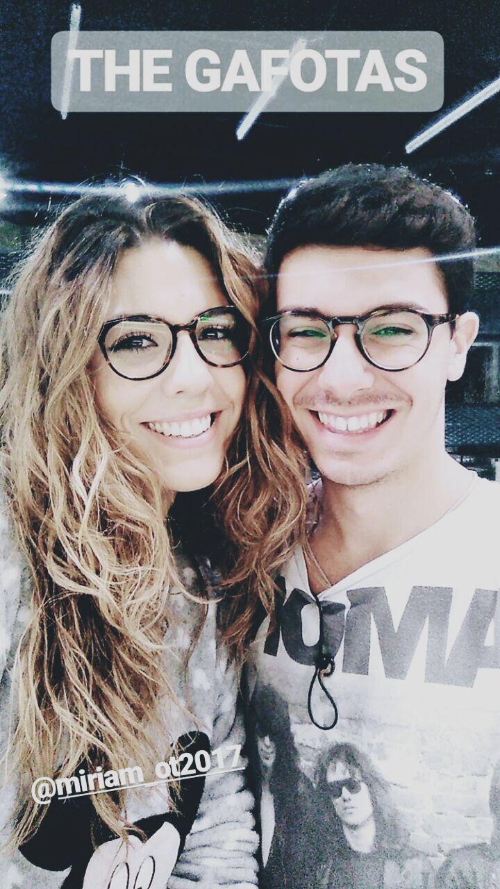 Miriam Rodríguez and Alfred García