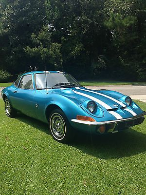 1970 Opel GT Mini Corvette-Nice!