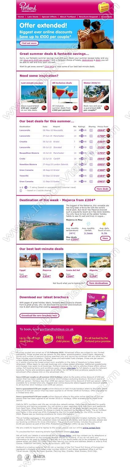 Best Email Design Travel  Tourism Images On