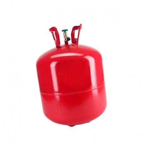 1 bombona de helio de 0,42m3.  Ideal para inflar 50 globos aprox.  Botella de Helio desechable.  Flotación de los globos de látex con helio: 6-9 horas.