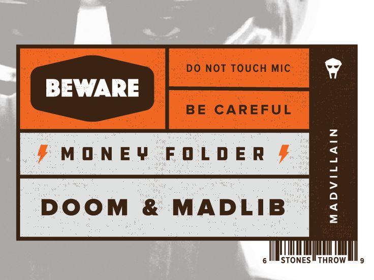 Madvillain - Money Folder by Adi Dick - Dribbble