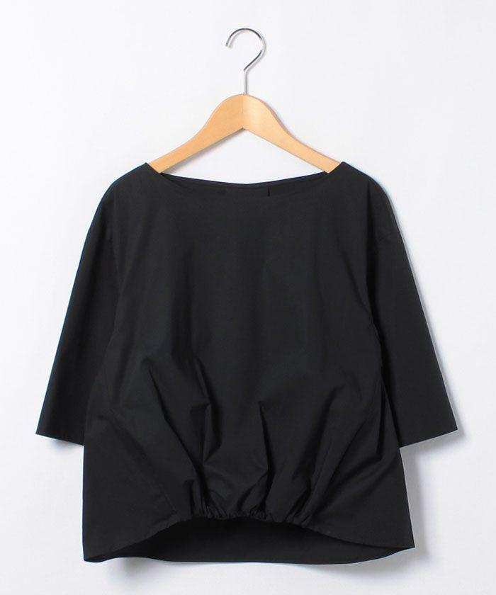 コットン ギャザーショートスリーブブラウス-Ballsey(Ballsey) | 全品送料無料 | レディース・メンズ ファッション通販 MAGASEEK(001533467)