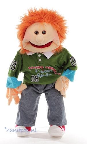 Nino. 65 cm grote Living Puppets menspop bij Handpop.nl