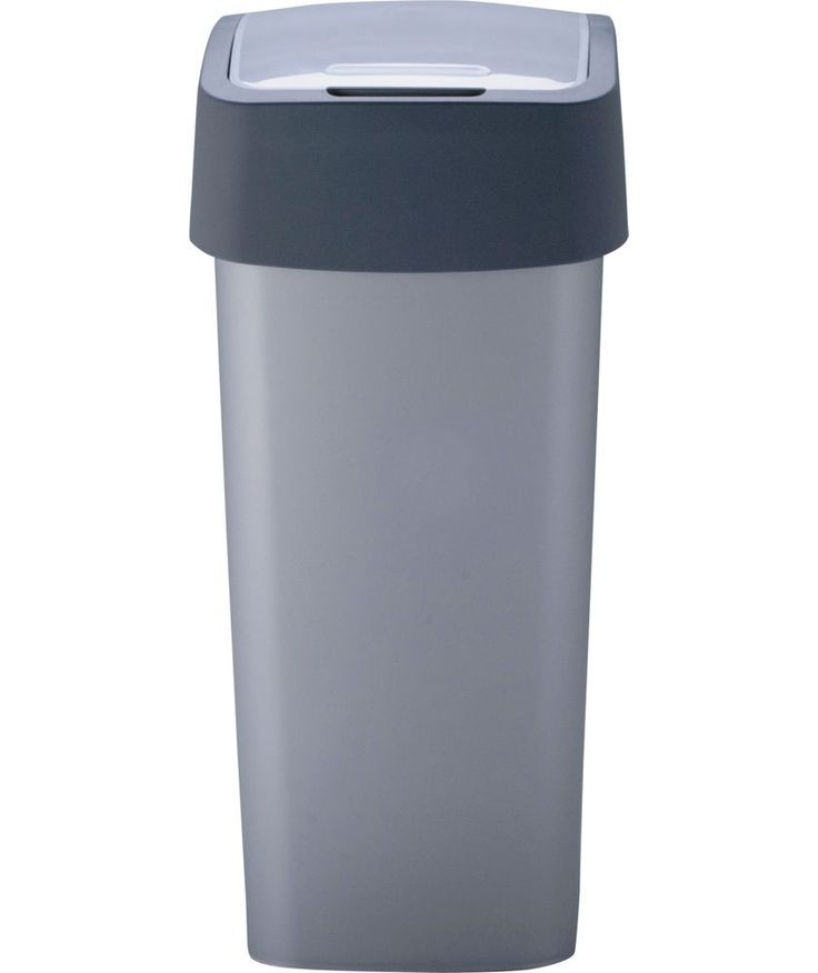 Buy Curver 50 Litre Flip Top Kitchen Bin - Silver at Argos.co.uk - Your Online Shop for Kitchen bins.