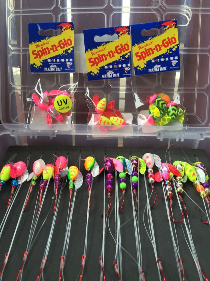 Spin n Glo lure versatile and great for walleye fishing