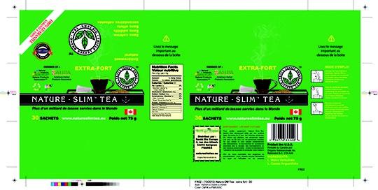 Boite Nature Slim Tea extra forte