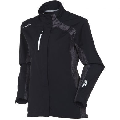 The ultra lightweight and soft fabric of the Sunice Sierra women's golf rain jacket feels so comfy, it is hard to believe that it is fully waterproof backed by a 3-year waterproof guarantee. Pair it with the Sunice Addison Rain Pants for a stylish and water tight rain suit.