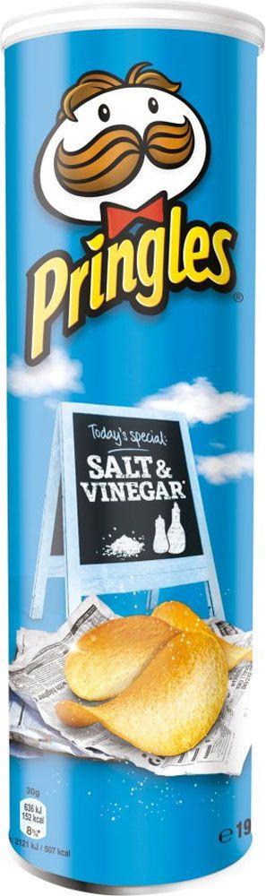 Pringles - Salt & Vinegar (190g) | Compare Prices, Buy Online | mySupermarket