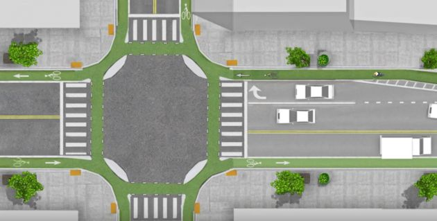 They've Invented An Ingenious New Type Of Intersection That Can Save Lives