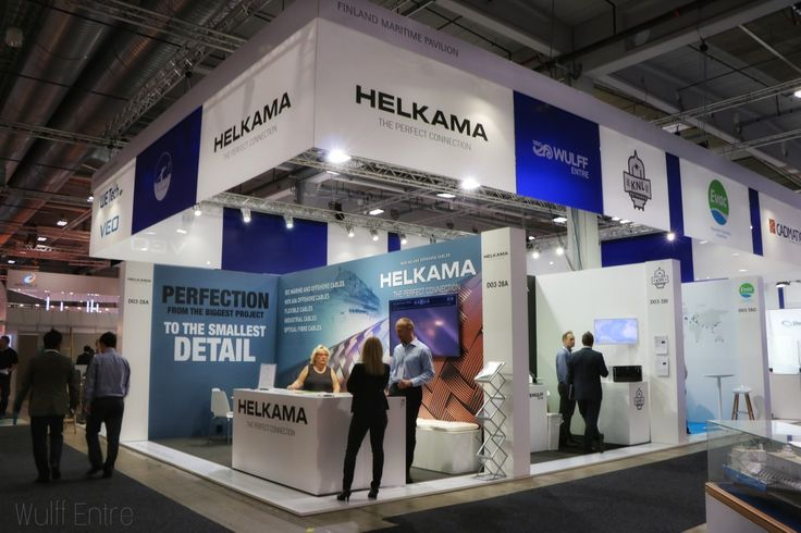 Nor Shipping 2017 Finnish Maritime Pavilion
