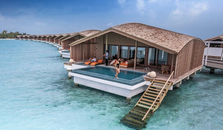 Resort the finolhu villas maldives family resort for Modern all inclusive resorts