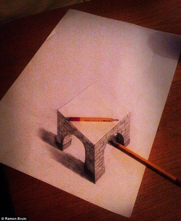 Beautiful D Artwork Ideas On Pinterest How To Draw Heart - Amazing 3d artwork dani aristizabal