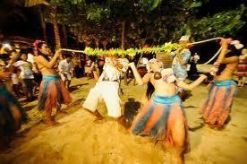 Danças e jogos para festa havaiana