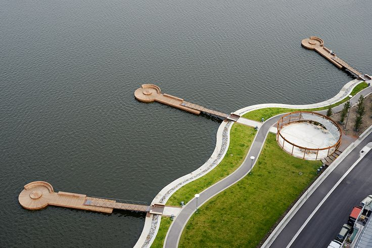 Hornsbergs Strandpark by Nyréns Architects