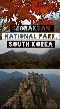 Hiking in Seoraksan National Park, Korea