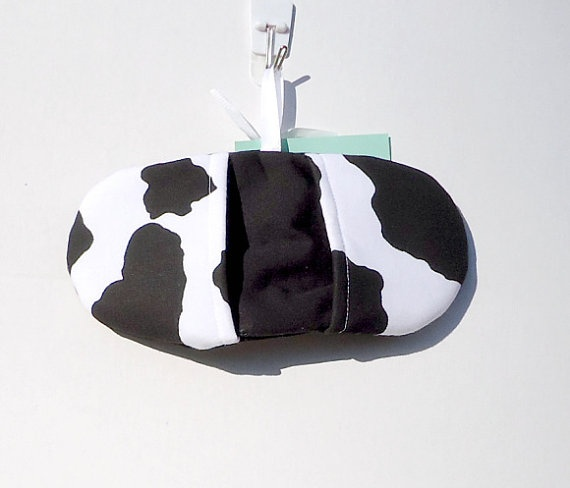 Cow Print Microwave Mitt  FREE Shipping by VABeachQuilter on Etsy, $6.95