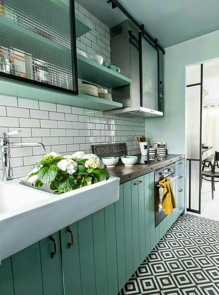 114 besten cocinas Bilder auf Pinterest   Küchen ideen, Küche klein ...