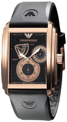 Emporio Armani Men's Watch AR4219 Emporio Armani. $420.75. 50 Meters / 165 Feet / 5 ATM Water Resistant. Quartz Movement. Mineral Crystal. 37mm Case Diameter