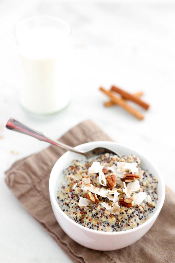 Spiced Chai Breakfast Quinoa