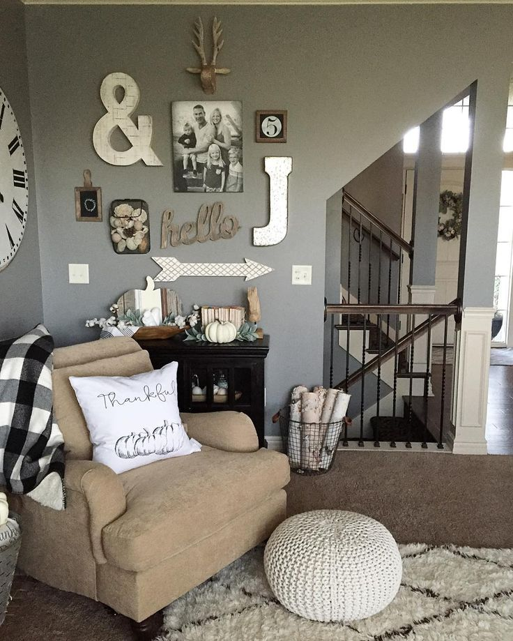Gallery Wall Letters Home Decor Decorating For Fall Marquee