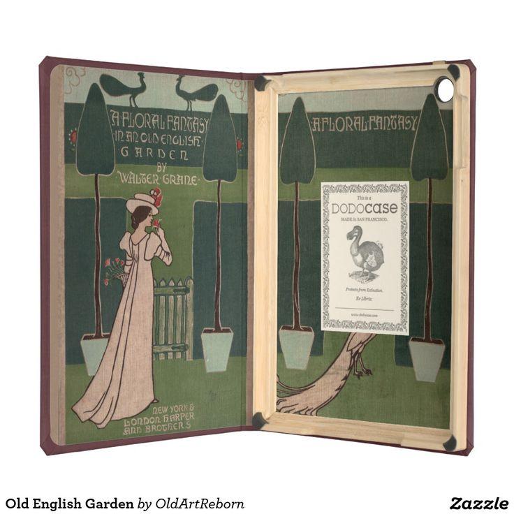 Old English Garden Case For iPad Air