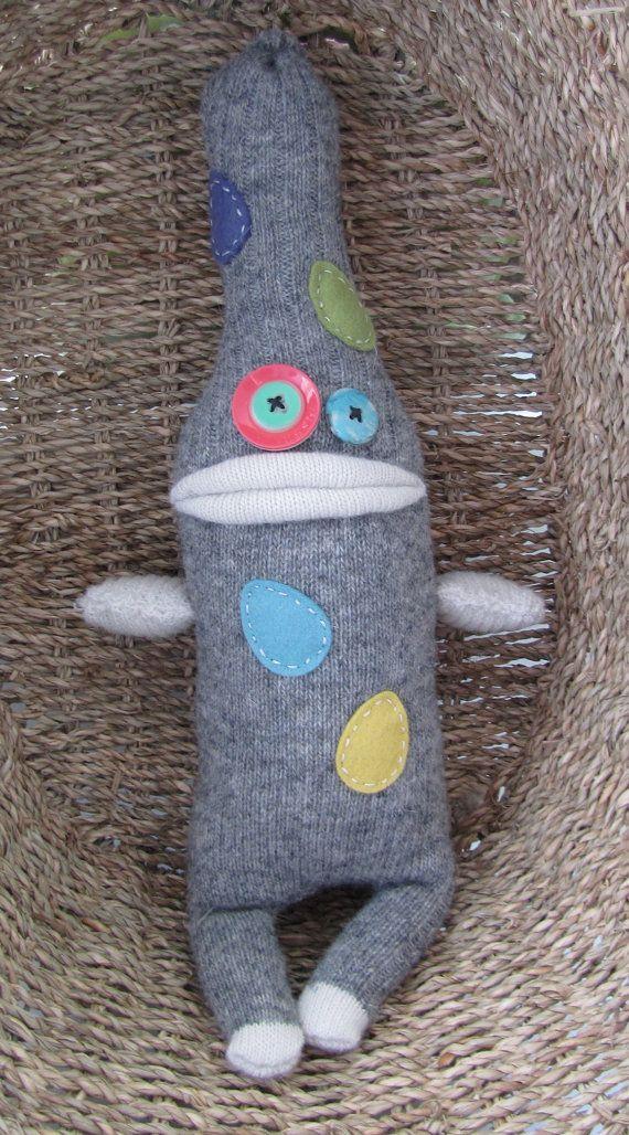 sock monster More