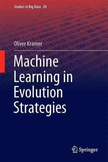 This bookintroduces numerous algorithmic hybridizations between both worlds that showhow machine learning can improve and support evolution strategies. The set ofmethods comprises covariance matrix es
