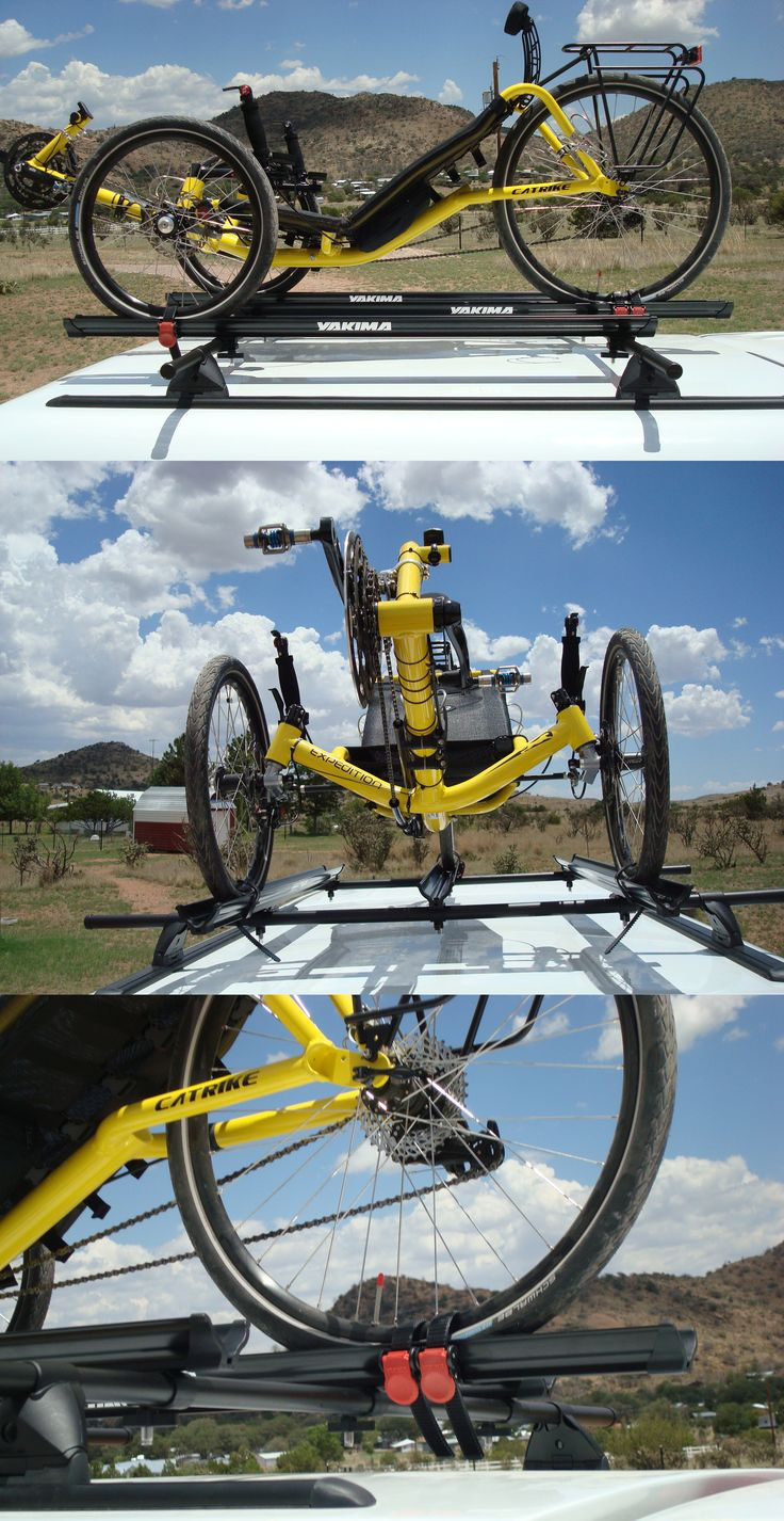 Ever heard of a diy bike rack or a diy catrike rack this is a brand new idea for bike transportation and looks awesome with wheel straps wheel trays
