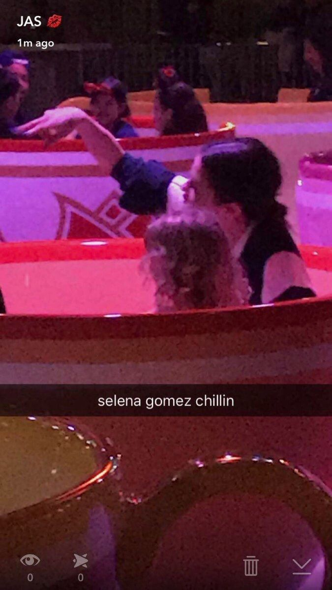 Selena Gomez with her sister Gracie Teefy at anaheim california Disneyland