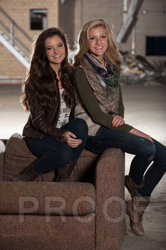 Brooke and Paige Hyland  photo shoot 2014