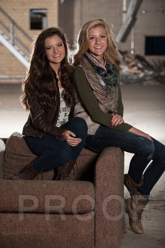 Brooke and Paige Hyland  photo shoot 2014