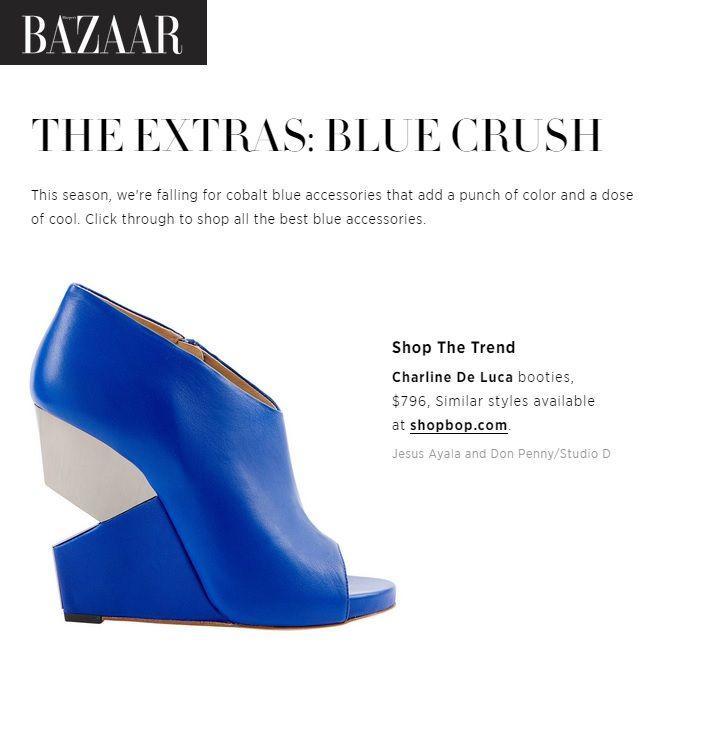 Charline De Luca on HarpersBazaar.com