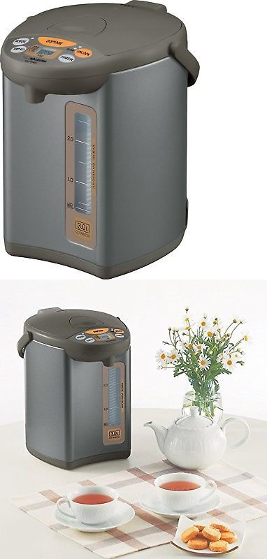 Hot Water Pots 177755: Zojirushi Cd-Wbc30-Ts Micom 3-Liter Water Boiler And Warmer Silver Brown -> BUY IT NOW ONLY: $167.11 on eBay!