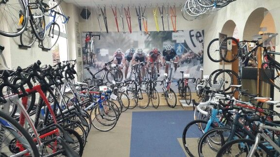 """""""Fahrrad Center Cottbus"""" - the biggest specialized bicycle store in Eastern Germany, just 120 km out of Berlin"""