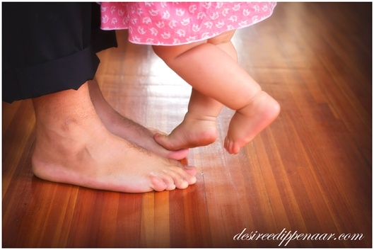 Precious moments - dancing with daddy..