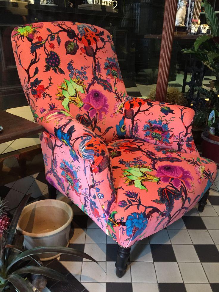 Traditional armchair in House of Hackney Artemis