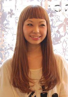 透け感ピュアロング - style-mono.hair-大阪市中央区南船場の美容室